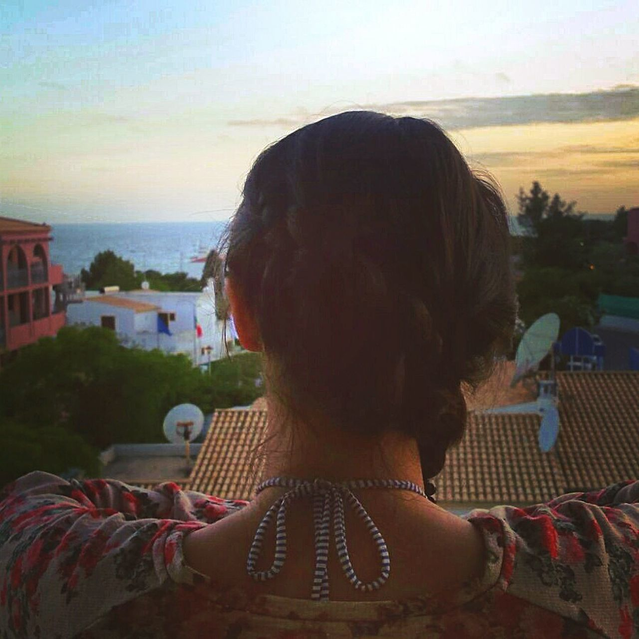 Backview Sky Skyline Albufeira One Person Braided Hair Bikini Summer Balconyview People EyeEmNewHere Women Around The World Place Of Heart Live For The Story