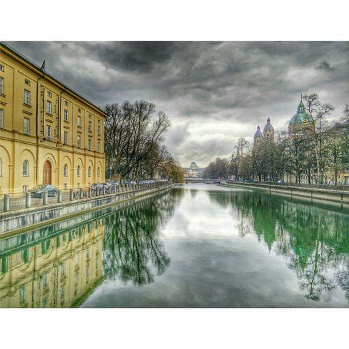 HDR Munich Praterinsel