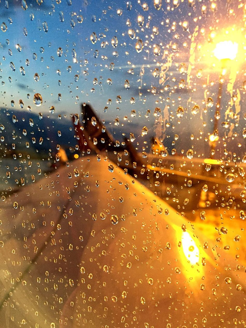 Morning drops :) Morning Morning Sky Sunrise Airport Airplane Enjoying Life IPhoneography Travel Photography From An Airplane Window Rain Drops Focus Focus On Foreground Planes Traveling Relaxing EyeEm Traveling Drops Wizzair Wizz Things I Like Visual Trends SS16 - Lifestyle x Travel