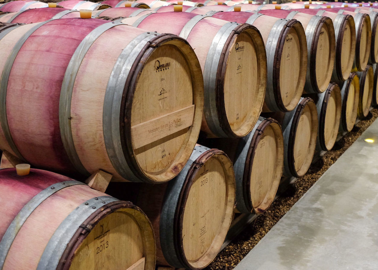 Wine Cask Cellar Wine Cellar Wine Barrel Winery In A Row Winemaking Keg No People Indoors  Alcohol Day Red Wine