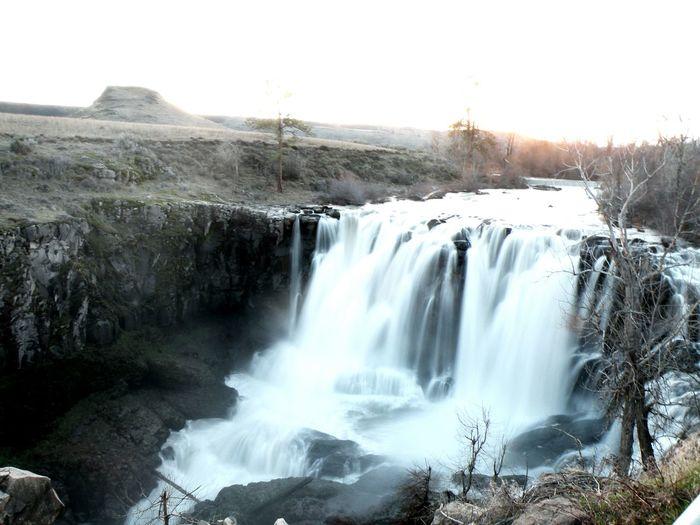 White River Falls Maupin OR. Long Exposure Waterfall Waterfall #water #landscape #nature #beautiful