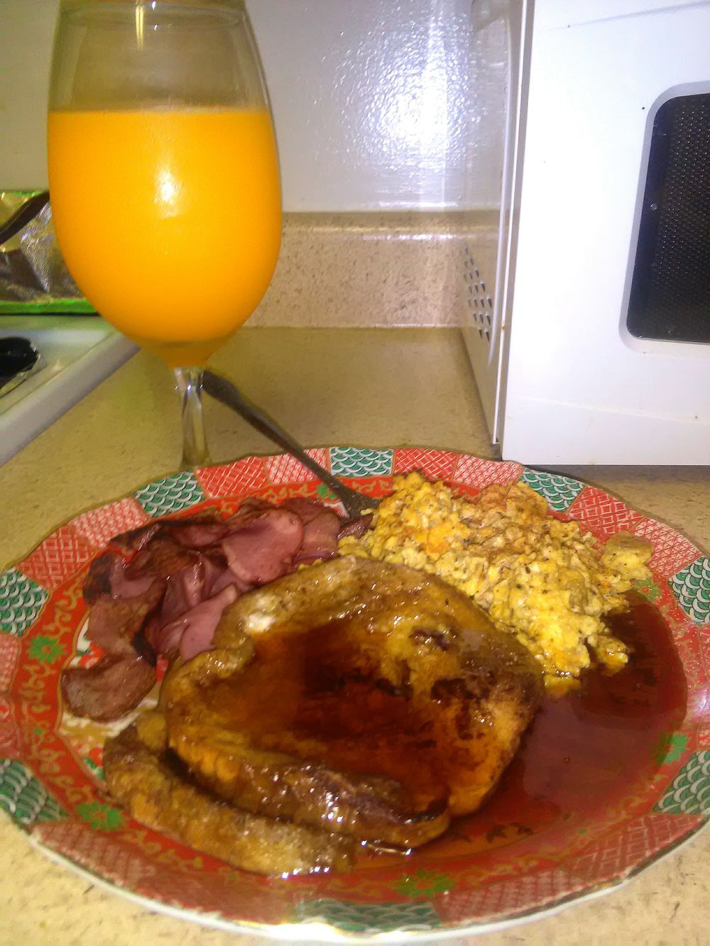 Bacon And Eggs Food And Drink Drinking Glass Egg Yolk Cooking Ingredient Cookbookinstores Food Meal First Eyeem Photo French Toast Orange Juice  King Syrup
