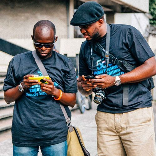 Photography connects... Made some nice friends and met some generous souls who appreciate and follow my work! Such a humbling experience FirstBank500pxLagos 500pxLagos Nigeria Lagos streetphotography snapitoga photographers lumia