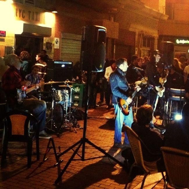 Paseo de Las Canteras. Música en vivo.