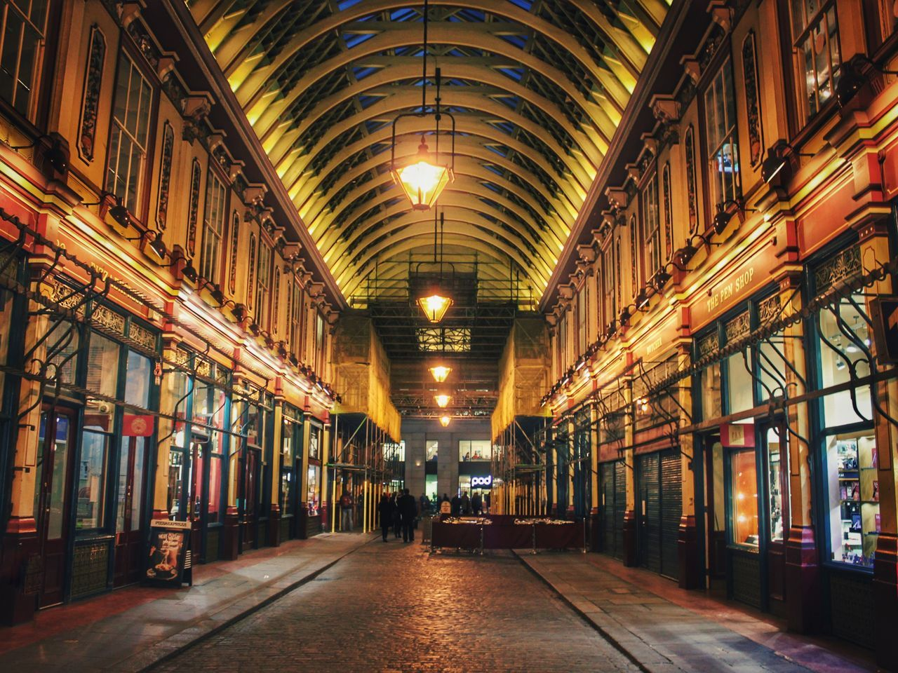 LeadenhallMarket London London Lifestyle LONDON❤ London Streets Street Streetphotography Street Photography Night Nightphotography Night Lights Night Photography Architecture Illuminated Indoors  Eye4photography  From My Point Of View Light And Shadow Vanishing Point EyeEm London Urban Lifestyle Urban Exploration EyeEm Best Shots EyeEm Masterclass Urban Landscape