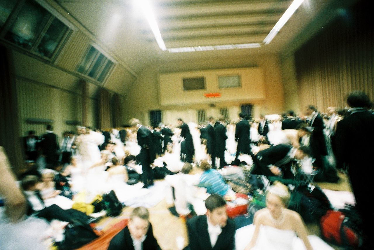 large group of people, crowd, real people, indoors, women, audience, men, sitting, student, day, people, adult