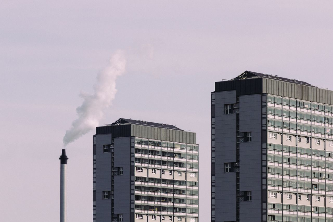 The Architect - 2017 EyeEm Awards Smoke - Physical Structure Pollution Emitting Built Structure Architecture Smoke Stack Industry Factory Chimney No People Building Exterior Day Outdoors Clear Sky Sky Glasgow