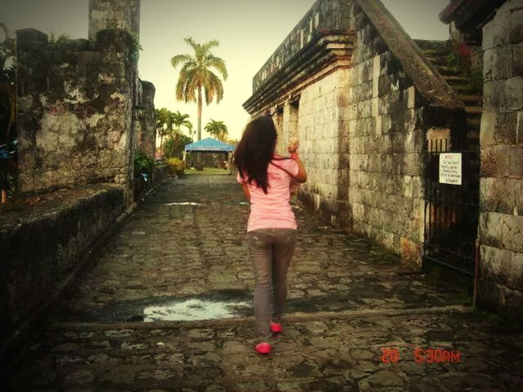 Portrait Of A Friend Stolen The Old Fortress Fort San Pedro Cebu Philippines