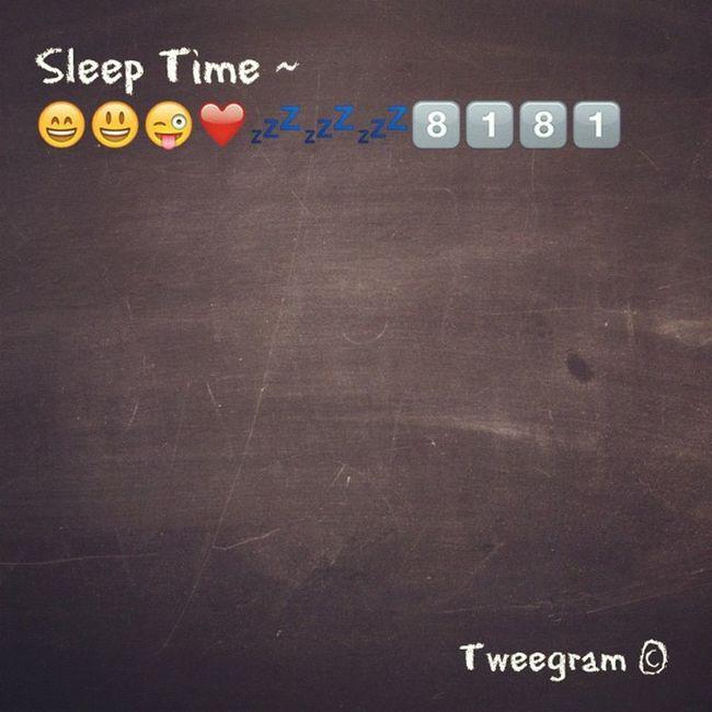 Tweegram sleep time~ ???