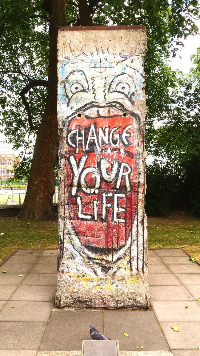 Inspired Imperial War Museum London Berlin Wall Truth