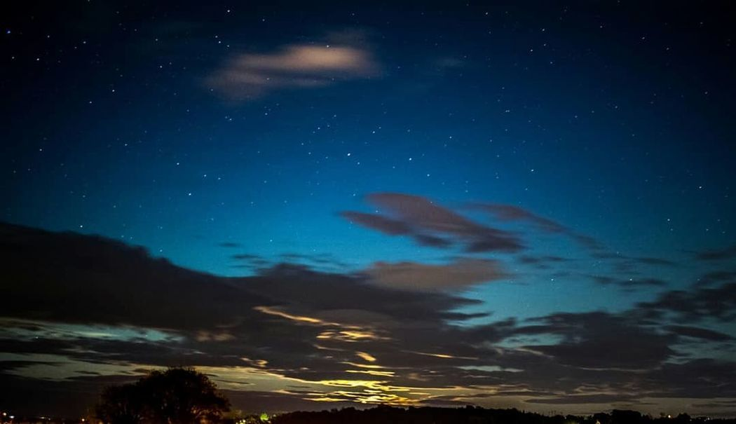 Star - Space Astronomy Night Space And Astronomy Space Constellation Sky Milky Way Landscape Galaxy Cloud - Sky Planet - Space Science Nature Sunset Solar System Scenics Outdoors Mountain Beauty Nature No People Blue Beauty In Nature Rural Scene