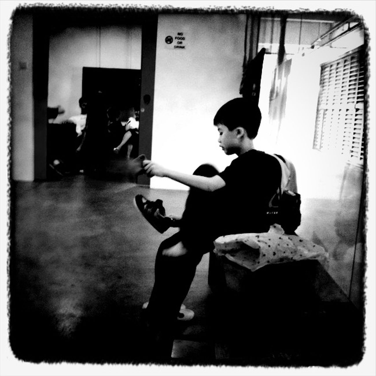 at Longkang @ Jurong East No Flash Claunch 72 Monochrome Film
