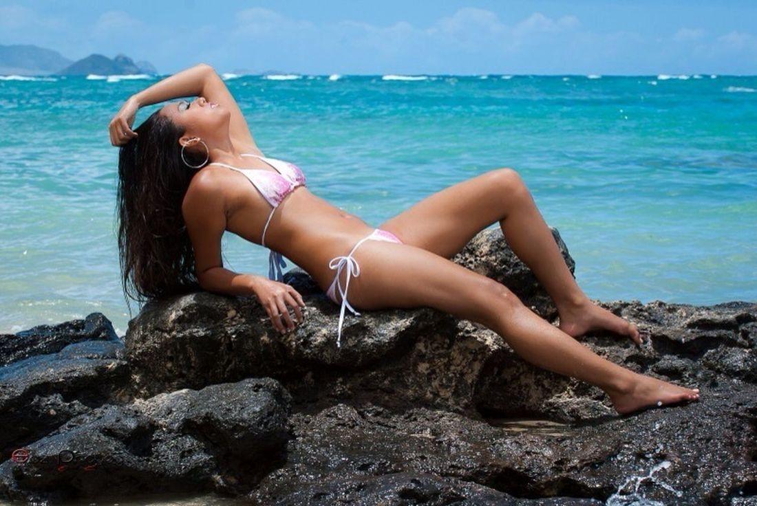 Model Modeling Hawaii Hawaiian