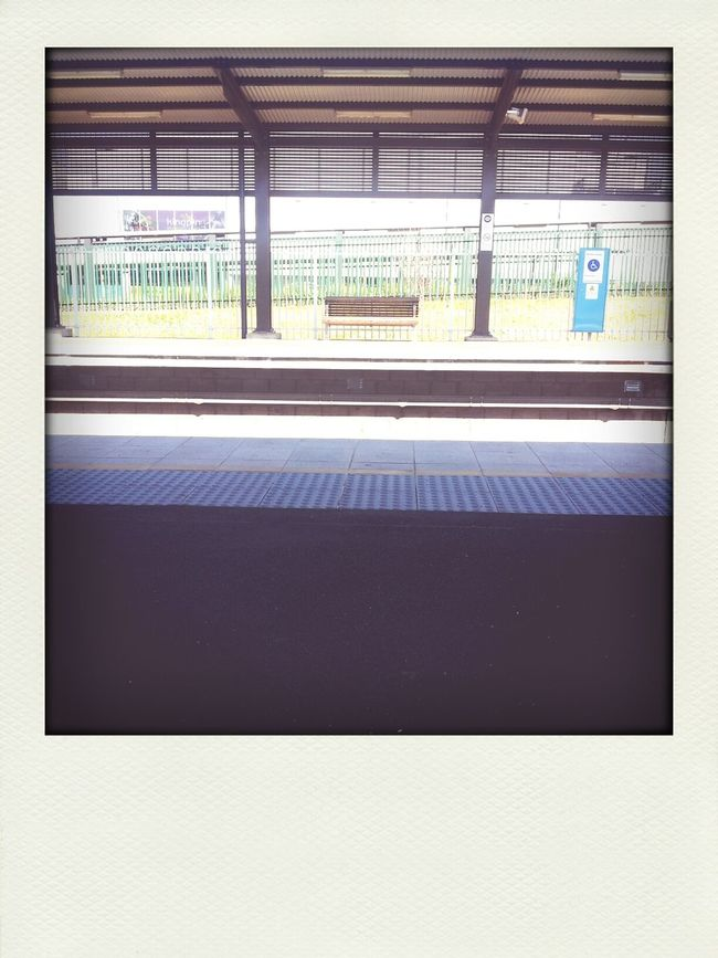 empty station! Subway Public Transportation Commuting