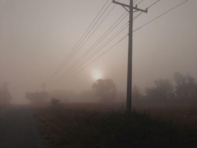 Fog Foggy Morning Foggy Landscape Foggymorning Foggyroad Countryside Oklahoma Oklahoma Weather Unknown Mothernature Mystery Nature's Diversities