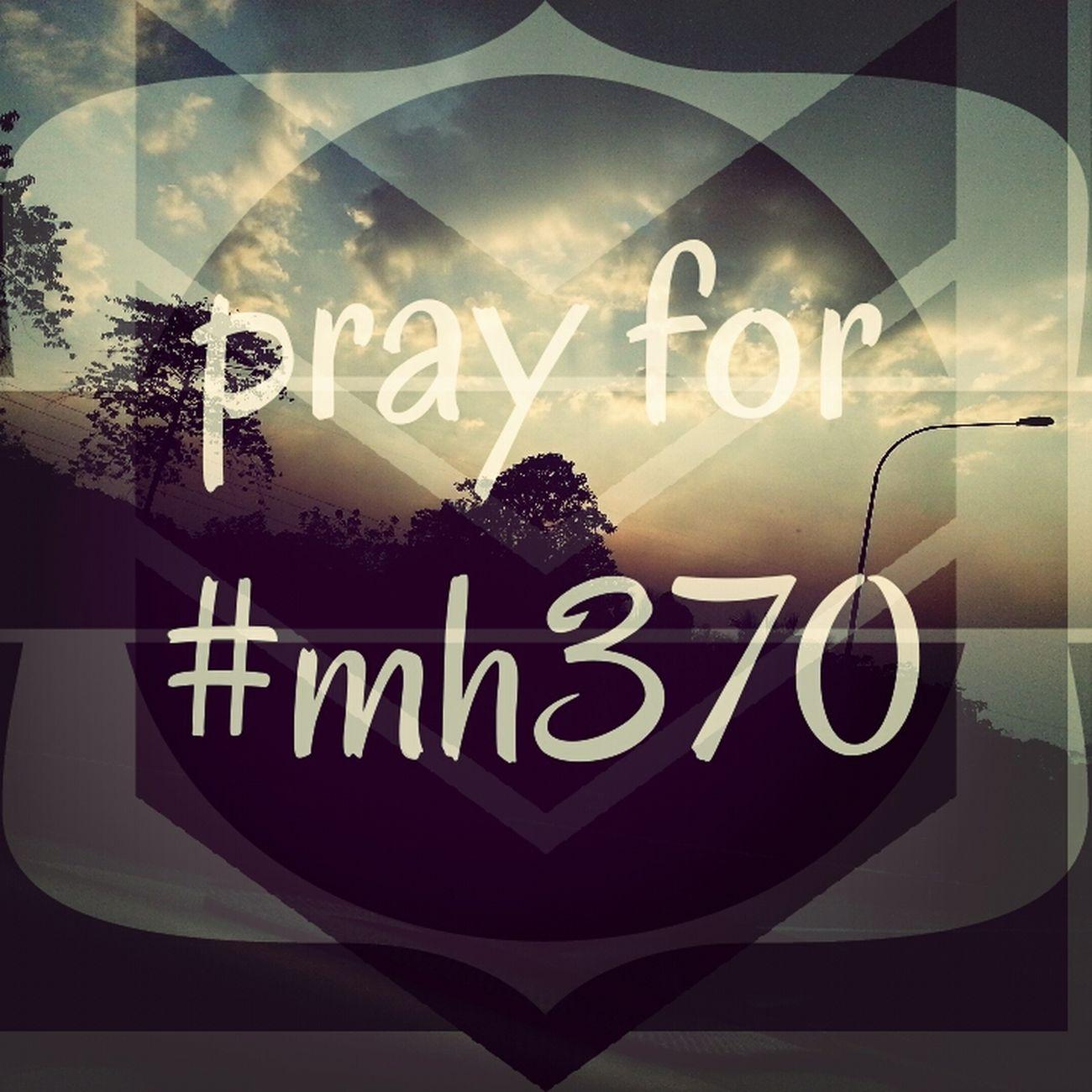 Pray For #mh370
