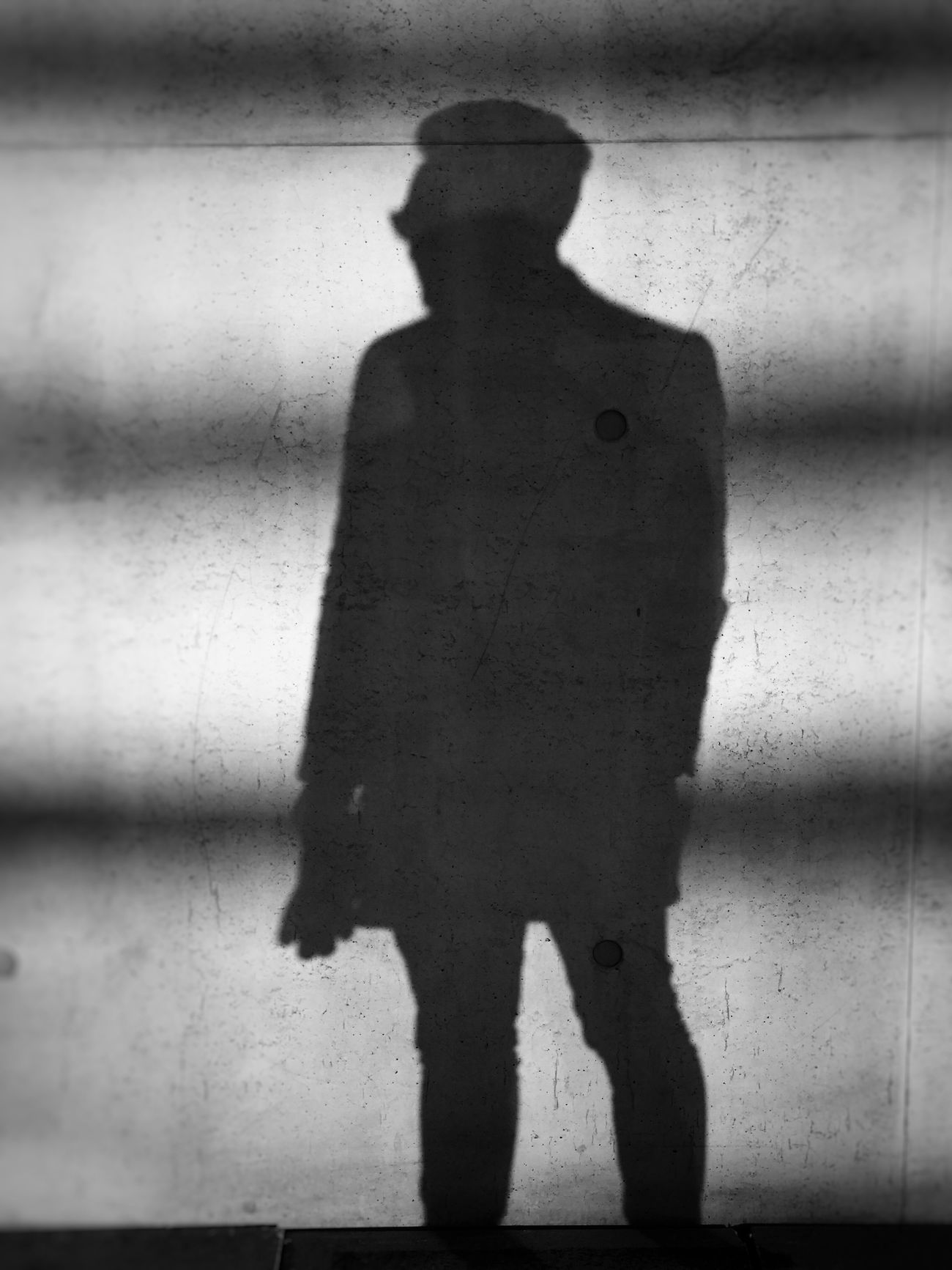 One Person Standing Full Length Shadow Silhouette Black And White Noir Film Noir Stylish Man Manly  Male Model Pose Hitman Dangerous Sinister Adult Men Adults Only Businessman Only Men Day Indoors  People