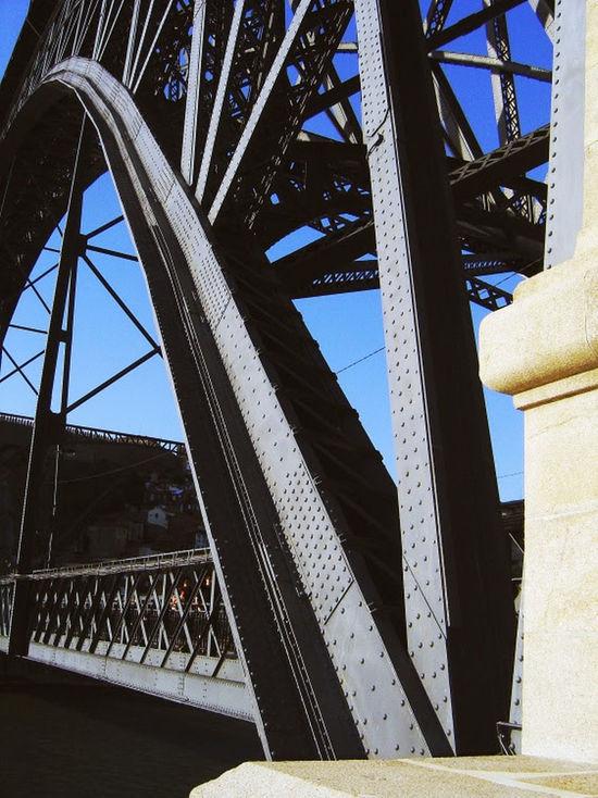 Architecture Douro River Gustaf Eiffel Disciple Iron, Luis I Bridge, Porto, Portugal