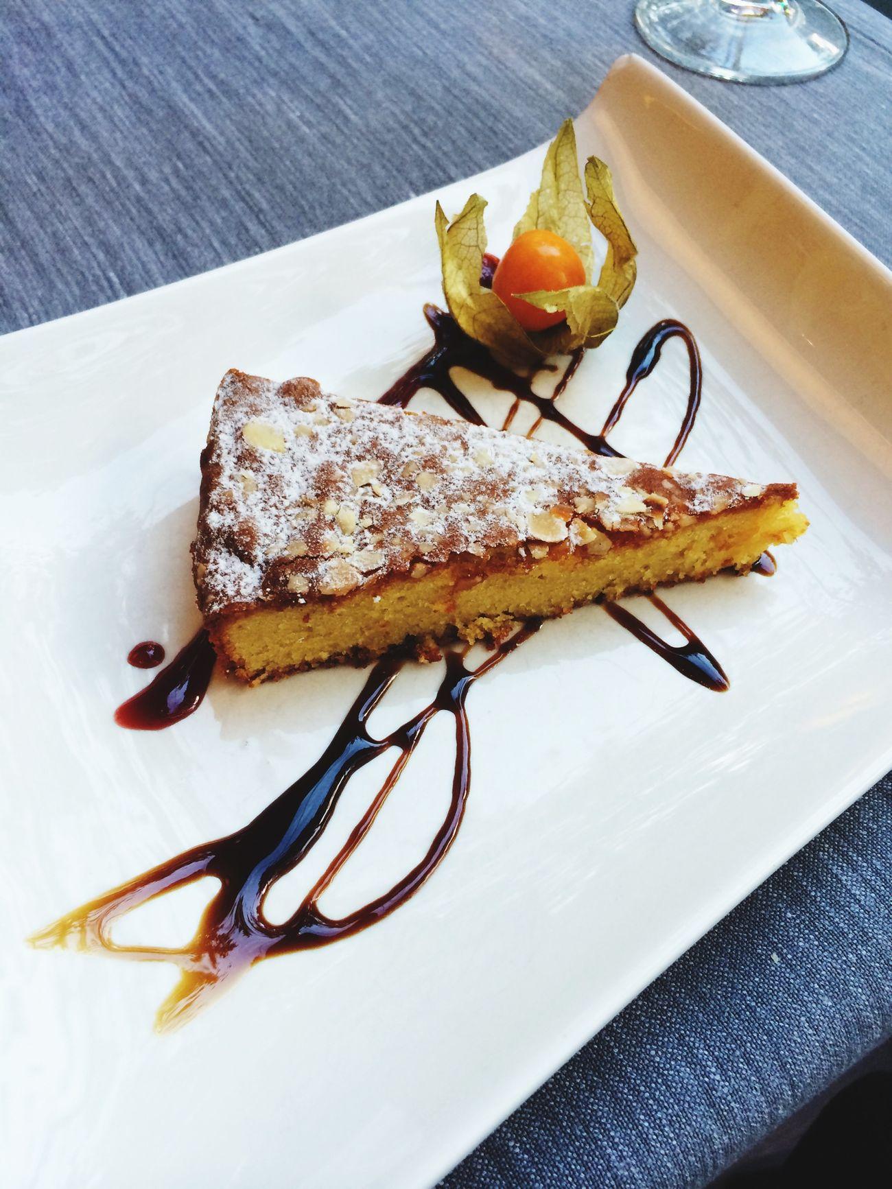 Yum Almond Cake Dessert