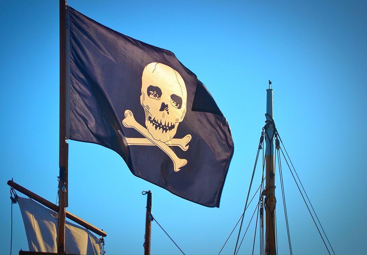 Beautiful stock photos of piraten, Blue, Boat, Clear Sky, Danger
