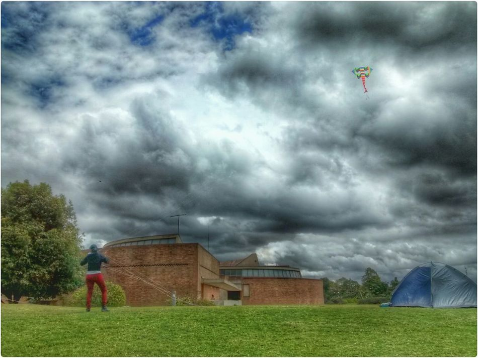 Walking Around Excercising Enjoying The Sun Sky And Clouds Sky_collection Kite My City