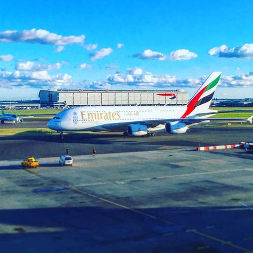 Emirates Airline London Firstclass Traveling