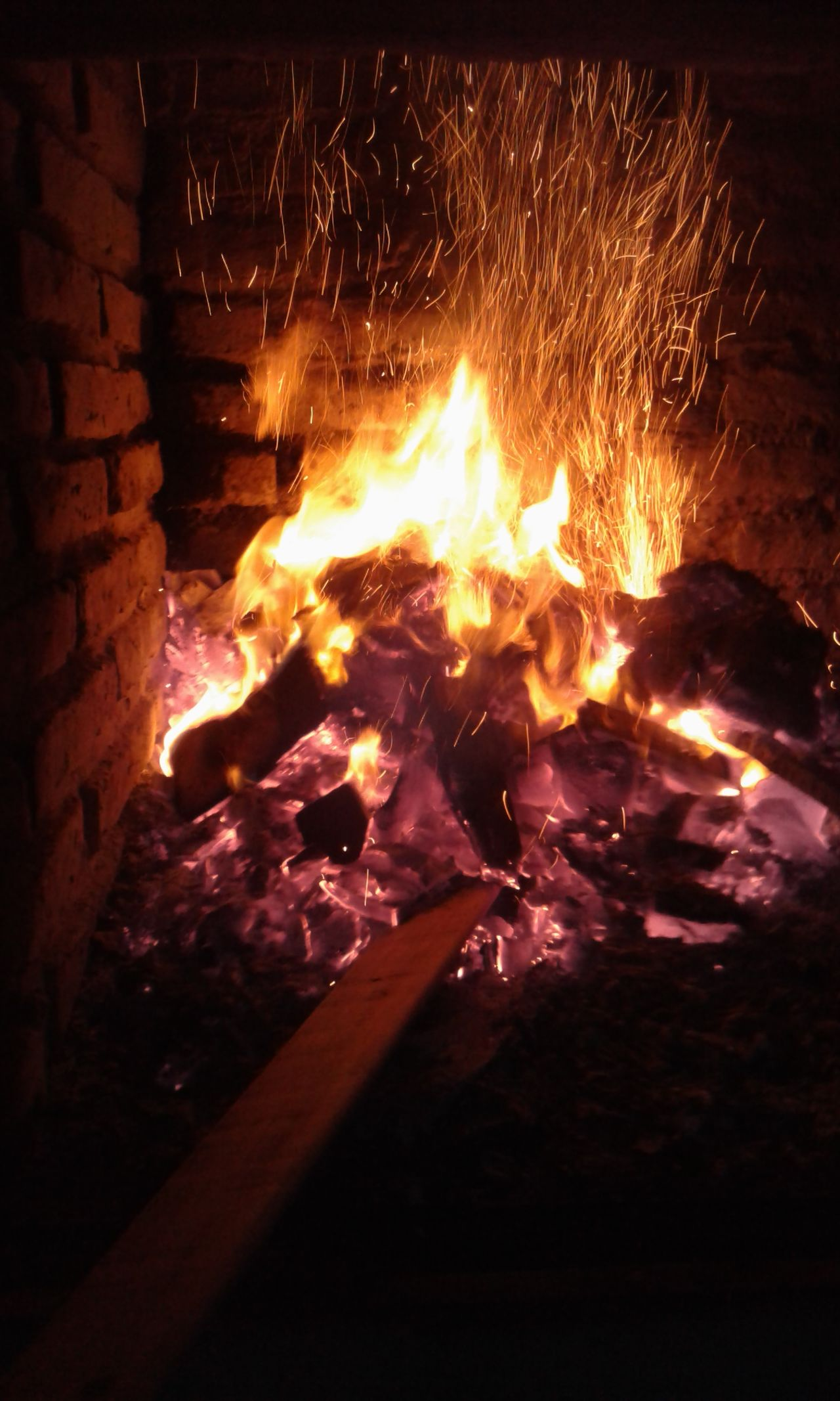 Flame No People Heat - Temperature Burning Night Nature Illuminated Outdoors Close-up Fire On Fire Wood - Material Burning
