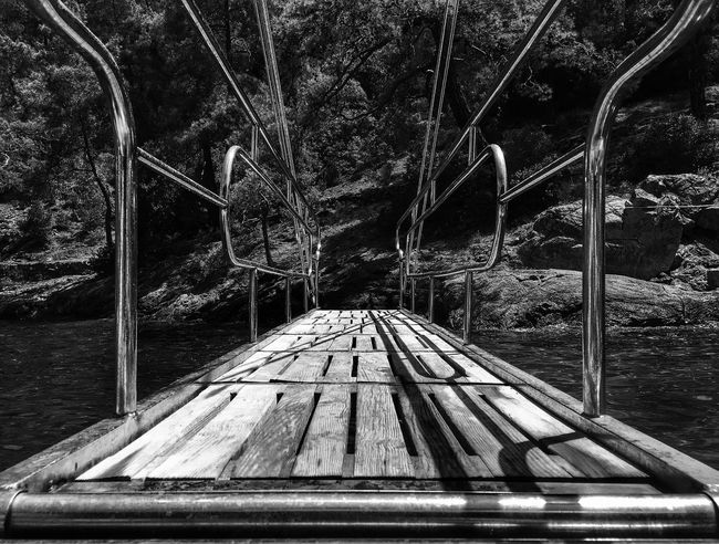Splash Blackandwhite Water Boat Trip Boatride WalkThePlank Lagoon Boat First Eyeem Photo