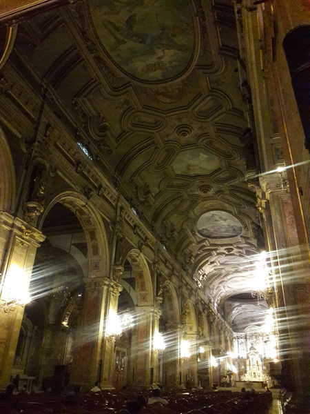 Santiago De Chile Cathedral Ancient Architecture Ancient Building City Building Catedral Metropolitana