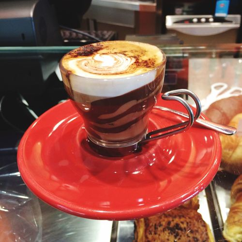 Marocchino ( Espresso with Milk and Nutella ) ☕️😋... The Perfection in a Cupofcoffee Coffee ! Bar Italian Food