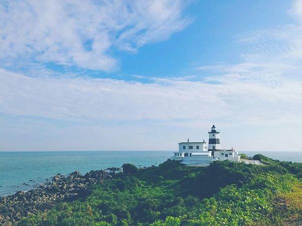 環島 四極點 台灣極北點 富貴角 燈塔 Fukweichiao Lighthouse Farnorthoftaiwan Northcoast Northcape Taiwan Formosa Travelroundtaiwan Aroundtheisland