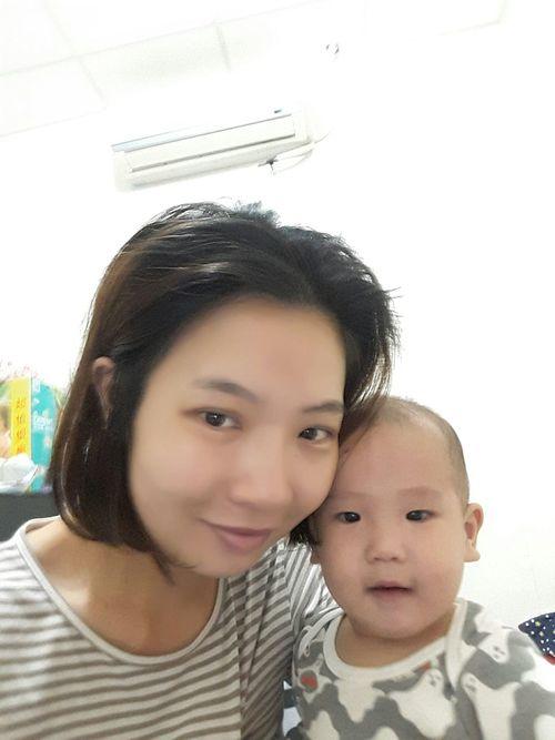 一早起床就先來個自拍 Jayden 9m Mom Son The View And The Spirit Of Taiwan 台灣景 台灣情