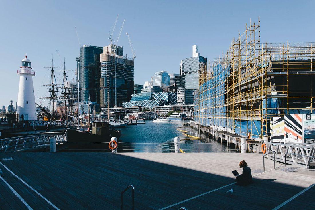 Deceptively Simple Sidney Sydney Australia Travel Building Urban Open Edit People Sun