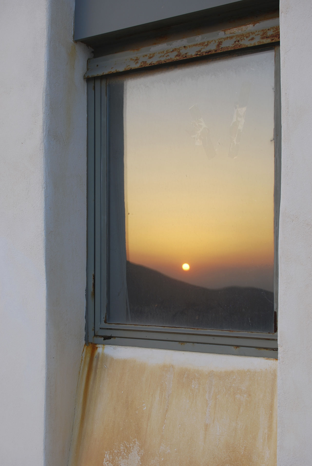 Sunset reflections   Chora, Ios Day Greece Ios Nature No People Outdoors Reflection Reflections Sky Sunset Water Window