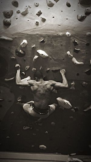 Climbing is released into peace with myself. That's Me Workout Hello World Tenyashoes FrictionLabs