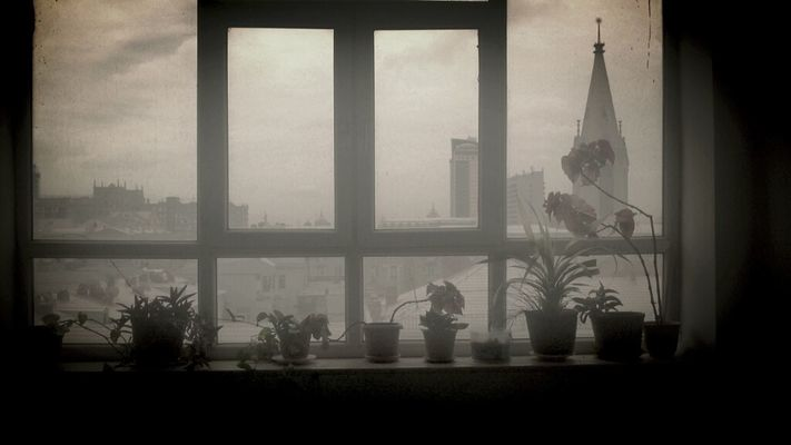 view from window at Azerbaijan State of Oil Academy by Hasil Aliyev