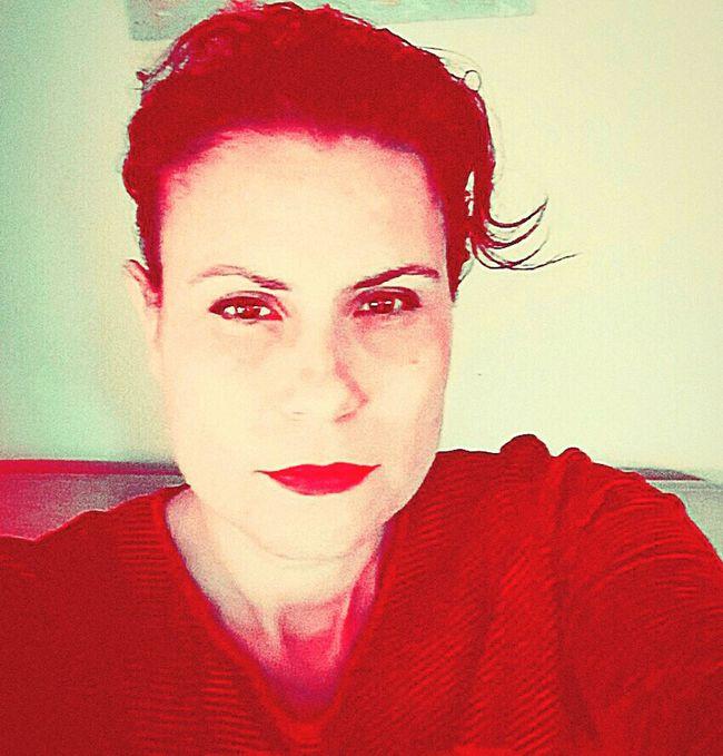 Hot Red Enjoying Life