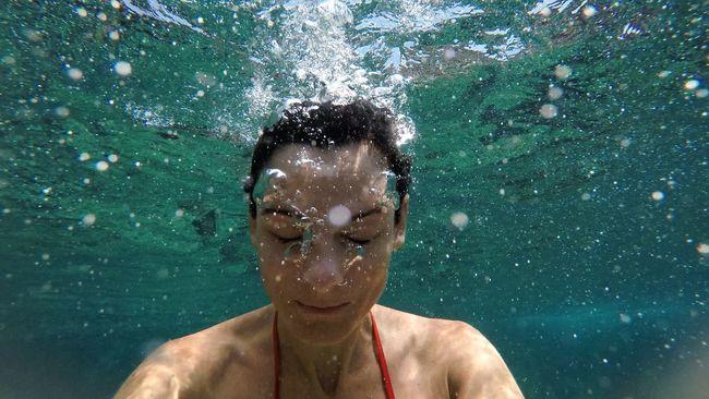 Underwater Water Underthesea Self Portrait Seaside Sea CreativePhotographer Sicily