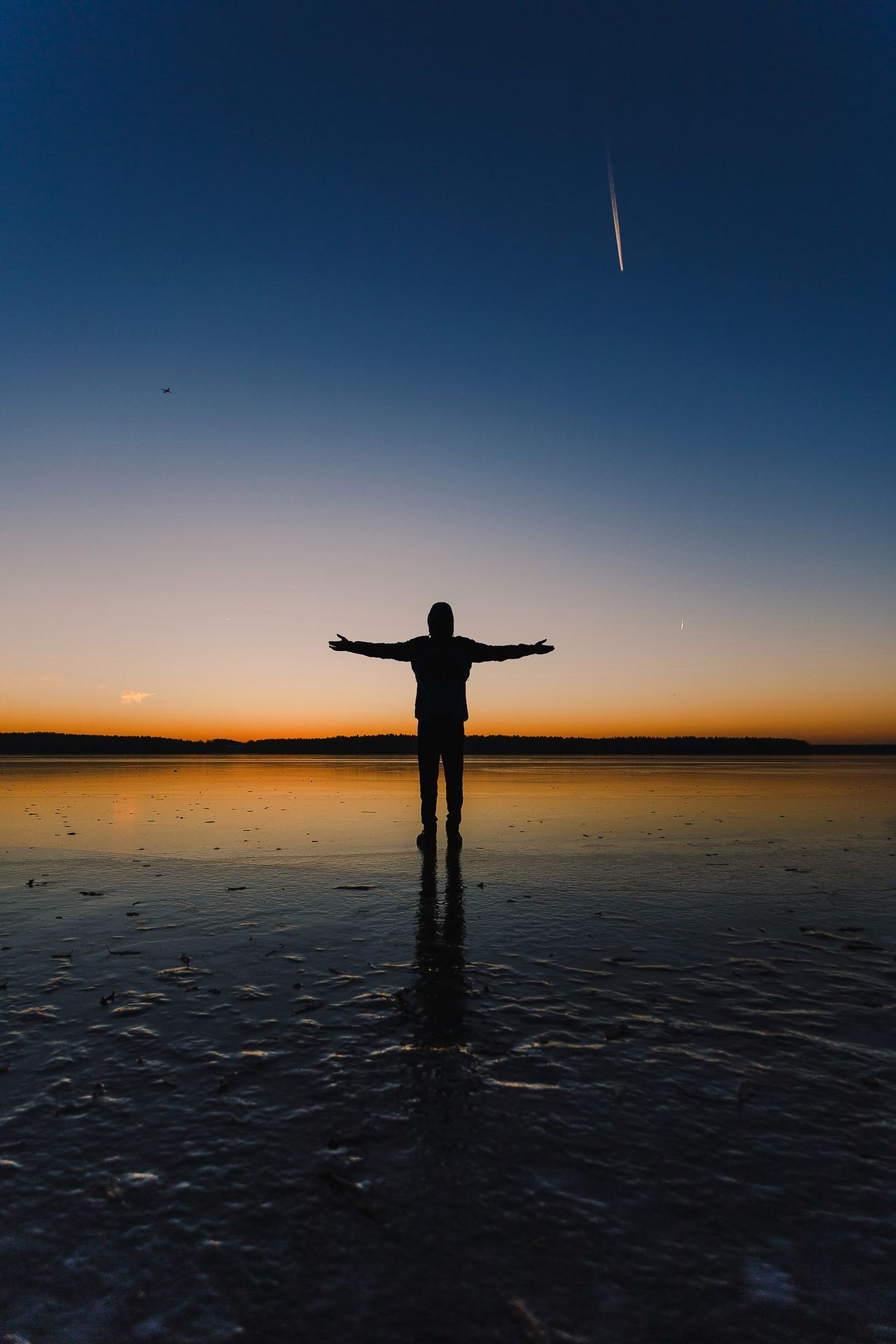 Beautiful stock photos of galaxy,  Adult,  Adults Only,  Arms Outstretched,  Beach