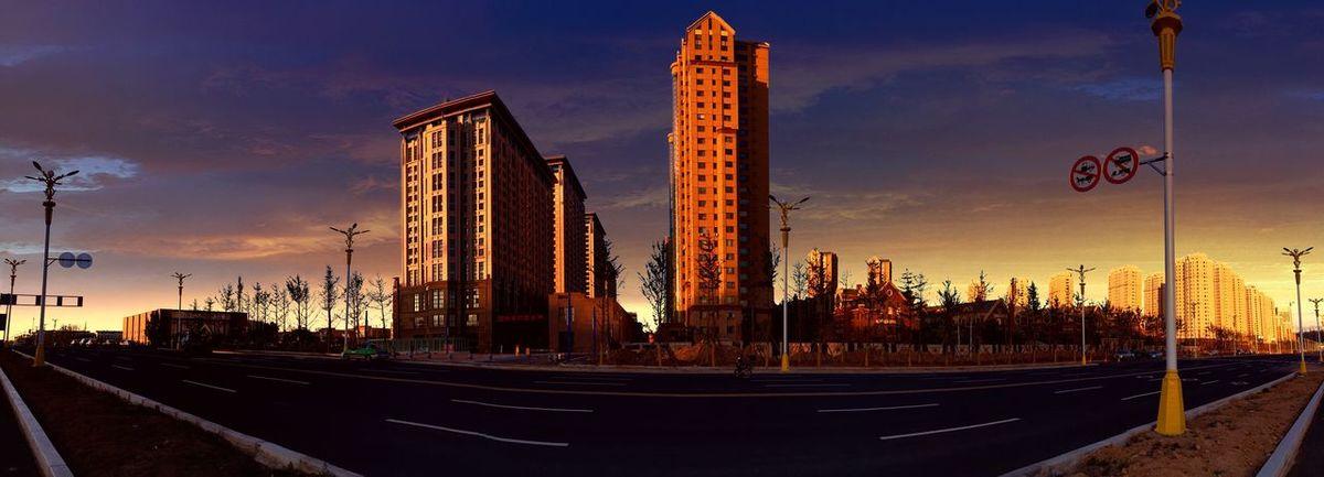 城市的一角