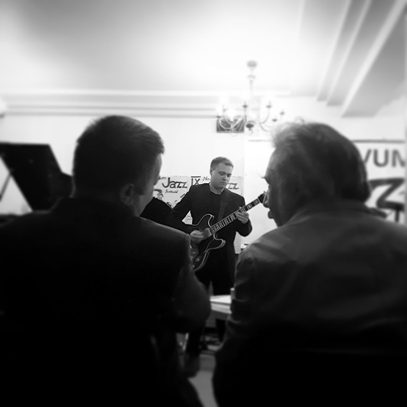 Musician Performance Blackandwhite Jazz Night Good Times Poland Music Like Competition Day Niceevening Lomzapoland Novumjazzfestival Jazz Festival Blackandwhite Photography Nice Atmosphere Lomza Łomża Keep Smiling Music Festival Beautiful Day Gitara Guitar Player Jazz Music
