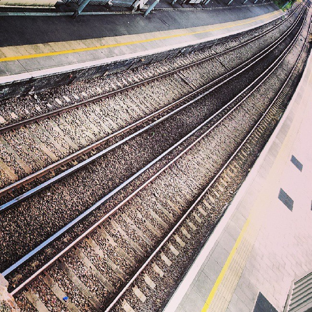 Railway Tracks Canonbury