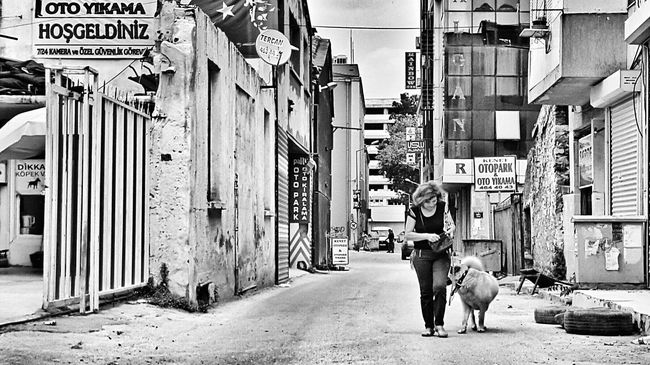 Alsancak Kordon Streetphotography Dog Izmir Woman Street The Street Photographer - 2016 EyeEm Awards