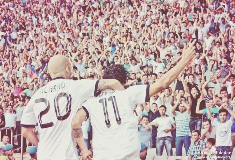 Qarabağ FK 2 - 1 Salzburg FC❤Qarabaghfk Soccer Uel First Eyeem Photo
