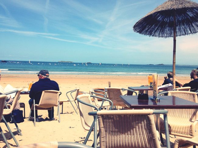 Enjoying Life Bretagne Bzh French France Seaside Seascape Beach Plage