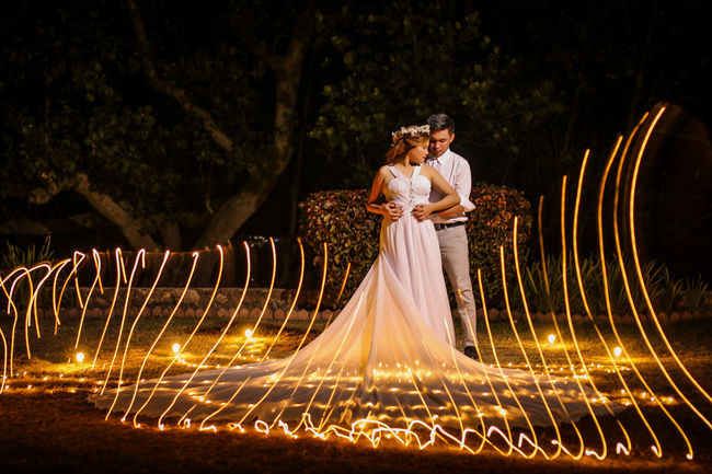 Love even in the night.. #couple #lighting #nightshot #outdoor #photography #photoshoot  #prewedding #wedding First Eyeem Photo