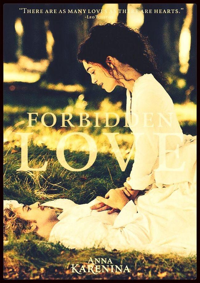 AnnaKarenina Vronskijandanna  Forbidden Love Literature - let me dream