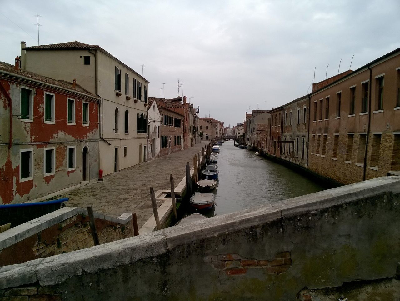 Abbandono Canal Cityscape Desolation Empty Road Gloomy Day Solitude Spopolamento