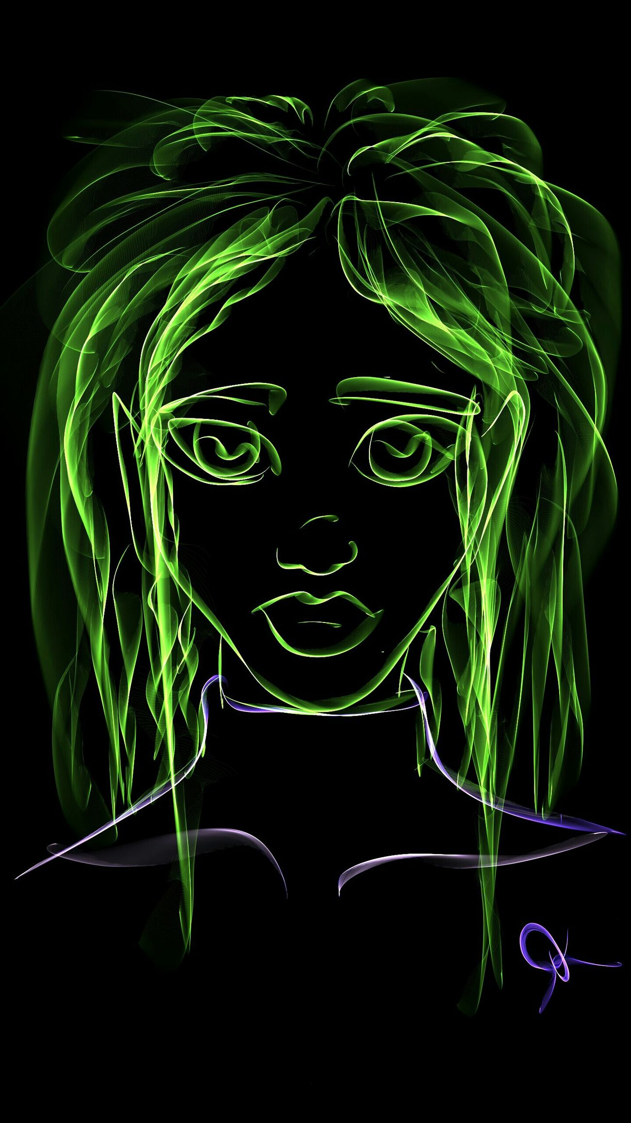 I was messing around with Silk Paints app on my Note 4 today. Drawing Art, Drawing, Creativity Digital Art Note4 Galaxynote4 Silkpaints Neon Woman