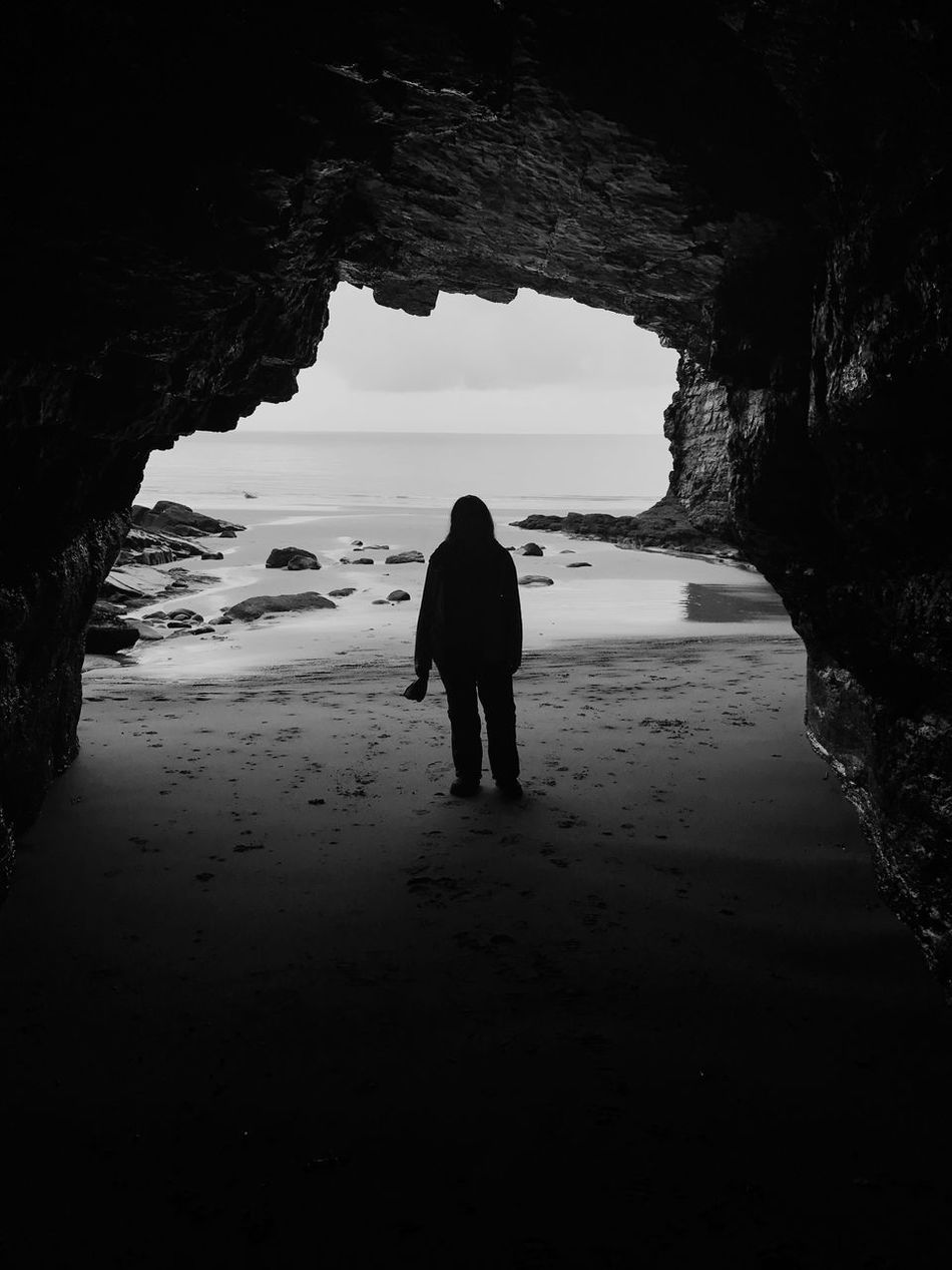 Cave dweller EyeEmNewHere Cave Silhouette Pirate